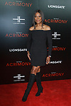 """Guest arrives on the red-carpet for the Tyler Perry""""s ACRIMONY movie premiere at the School of Visual Arts Theatre in New York City, on March 27, 2018."""