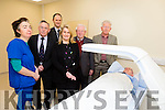 The Dexa Scanner measures the density of the bones in the Skeleton was bought by the Friends of Kerry General Hospital and now official opened on Monday  8th February 2016. Pictured Miriam Langford, radiographer, Mr Tom McCormack, T J O'Connor, Ann Marie Flaherty, Liam Brassil, PJ Hayes and Donal O'Callaghan