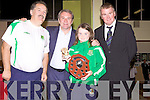 Awards night for Listowel Celtic Soccer Schoolboys/girls were held in St. Michaels College Listowel on Thursday night..Dominic Scanlon, Ray Houghton, Louise Horgan, Aidan O'Connor