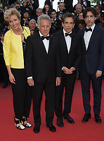 Emma Thompson, Dustin Hoffman, Ben Stiller &amp; Noah Baumbach at the premiere for &quot;The Meyerowitz Stories&quot; at the 70th Festival de Cannes, Cannes, France. 21 May  2017<br /> Picture: Paul Smith/Featureflash/SilverHub 0208 004 5359 sales@silverhubmedia.com
