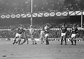 26/08/1980 Everton v Blackpool League Cup 2nd Round 1st Leg .Paul Fletcher header ends up wide....© Phill Heywood.