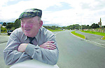 South Kerry TD Jackie Healy-Rae is well pleased with himself as he admires the new by-pass outside Killarney which he claims he instigated..Picture by Don MacMonagle Jackie Healy-Rae, TD from the book by Don MacMonagle entitled 'Jackie - Keeping Up Appearances' published in 2002.