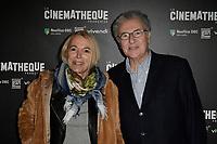 Laure ADLER, Serge TOUBIANA - Avant Premiere D'APRES UNE HISTOIRE VRAIE de Roman Polanski - La Cinematheque francaise 30 octobre 2017 - Paris - France