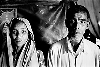 In early 2009, hundreds of Rohingya on boats traveling from Bangladesh to Malaysia were intercepted by the Thai military and pushed back out to sea to an uncertain fate with little food, water and no engines. The parents of 27-year-old, Mohamed, have not heard from him since he got on one of these boat in early December 2008.
