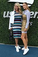 Christie Brinkley Nina Agdal<br /> US Open Tennis 9-9-2018<br /> Photo by John Barrett/PHOTOlink