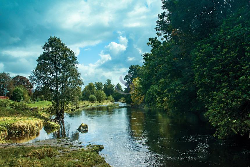 The River Gryffe, Houston, Renfrewshire