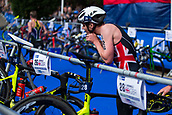 June 11th 2017, Leeds, Yorkshire, England; ITU World Triathlon Leeds 2017; Jonathan Brownlee gets ready for the bike phase