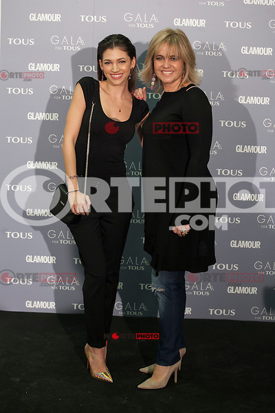 Ursula Tous and Rosa Tous pose for the photographers during TOUS presentation in Madrid, Spain. January 21, 2015. (ALTERPHOTOS/Victor Blanco) /NortePhoto<br /> NortePhoto.com
