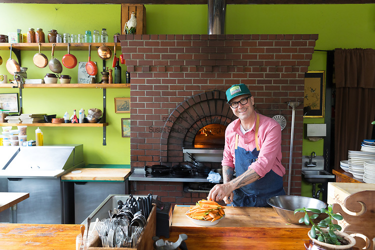 Chef Jason French at Ned Ludd Restaurant in Portland, Oregon