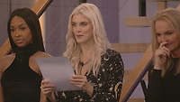 Malika Haqq, Ashley James, India Willoughby<br /> Celebrity Big Brother 2018 - Day 4<br /> *Editorial Use Only*<br /> CAP/KFS<br /> Image supplied by Capital Pictures