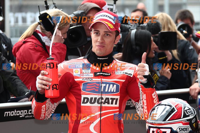 .6-04-2013 Losail (QAT).Motogp world championship.in the picture: Andrea Dovizioso - Ducati team .Foto Semedia/Insidefoto.ITALY ONLY