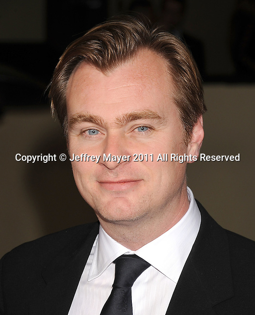 HOLLYWOOD, CA - January 29: Christopher Nolan - Director  arrives at the 63rd Annual DGA Awards held at the Grand Ballroom at Hollywood & Highland Center on January 29, 2011 in Hollywood, California.