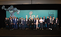 MIAMI BEACH, FL - JANUARY 28: The Fox Sports broadcast team and executives attend the Fox Sports Media Day during Super Bowl LIV week on January 28, 2020 in Miami Beach, Florida. (Photo by Frank Micelotta/Fox Sports/PictureGroup)