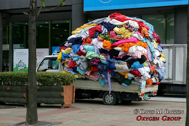 Clothing Overloaded On Truck