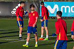 Yeray Alvarez during the training of Spanish national team under 21 at Ciudad del El futbol  in Madrid, Spain. March 21, 2017. (ALTERPHOTOS / Rodrigo Jimenez)