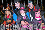 Léonie, Zoé, Guillaume,Laetitia and Mathilde Tiercelin from Brittany enjoying the Kenmare Halloween Parade last Thursday.