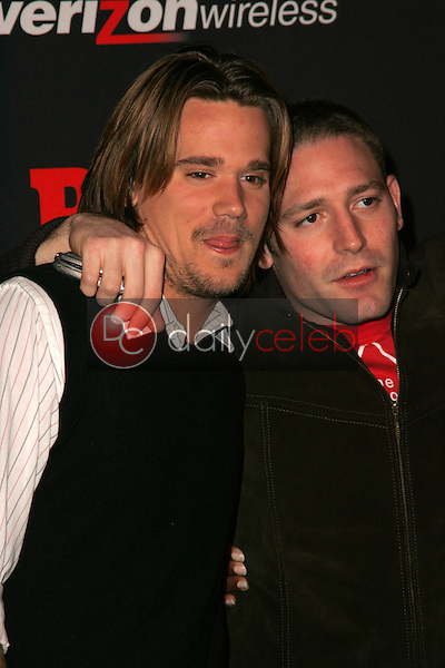 Sean Stewart and friend<br />