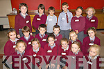 As part of Childrens Book Festival Fist & Second class pupils of St Finians NS Waterville put on a performance for parents and friends in Cahersiveen Library pictured here front l-r; Brianna O'Sullivan, Shonagh Fitzpatrick, Mia Flaherty, Sarah O'Sullivan, Emily O'Sullivan, Lead Dwyer, middle l-r; Aoife O'Dwyer, Darragh O'Dwyer, Cian Murphy, Cameron Andrews, Ethan O'Sullivan, Ella Courtney, back l-r; Andrew Walsh, Reese Nolan, Evan O'Shea, Cillian O'Shea, Jessica O'Neill Leanne O'Sullivan.
