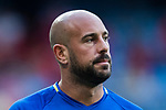 Pepe Reina of Spain warming up during their 2018 FIFA World Cup Russia Final Qualification Round 1 Group G match between Spain and Italy on 02 September 2017, at Santiago Bernabeu Stadium, in Madrid, Spain. Photo by Diego Gonzalez / Power Sport Images