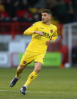 Fleetwood Town's Ched Evans<br /> <br /> Photographer Rob Newell/CameraSport<br /> <br /> Emirates FA Cup Second Round - Crawley Town v Fleetwood Town - Sunday 1st December 2019 - Broadfield Stadium - Crawley<br />  <br /> World Copyright © 2019 CameraSport. All rights reserved. 43 Linden Ave. Countesthorpe. Leicester. England. LE8 5PG - Tel: +44 (0) 116 277 4147 - admin@camerasport.com - www.camerasport.com