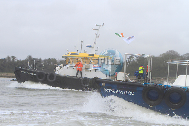 during the Inland Waterways regatta on the river Boyne on the 13th April 2013.Copyright: Thos Caffrey www.newsfile.ie