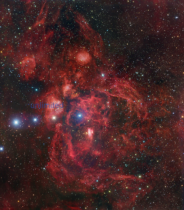 The Lobster Nebula in Scorpius, NGC 6357.