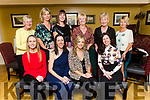 Michelle Corkery from Tralee celebrating her birthday in the Brogue Inn on Saturday night. <br /> Seated l-r, Shirley Eager, Lorraine O'Donnell, Michelle Corkery and Caroline Reidy.<br /> Back l-r, Joan O'Dowd, Sandra Burke, Aisling Barrett, Marie Corkery, Eileen Gainey and Theresa Cashman.