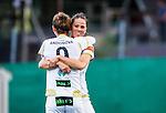 Solna 2015-10-11 Fotboll Damallsvenskan AIK - FC Roseng&aring;rd :  <br /> Roseng&aring;rds Natasa Andonova firar sitt 0-2 m&aring;l med Sara Bj&ouml;rk Gunnarsdottir under matchen mellan AIK och FC Roseng&aring;rd <br /> (Foto: Kenta J&ouml;nsson) Nyckelord:  Damallsvenskan Allsvenskan Dam Damer Damfotboll Skytteholm Skytteholms IP AIK Gnaget  FC Roseng&aring;rd jubel gl&auml;dje lycka glad happy