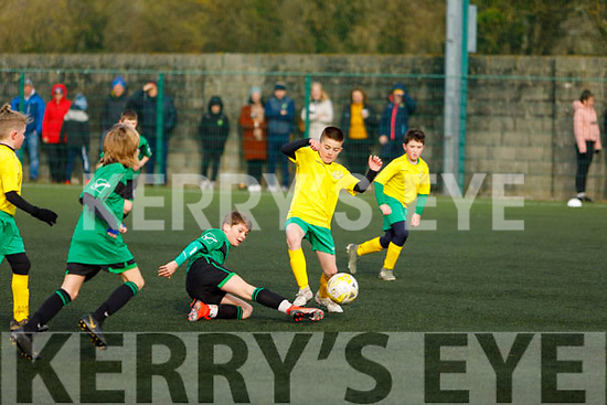 Action from the Kerry U11's v Limerick in Christy Leahy Park on Sunday