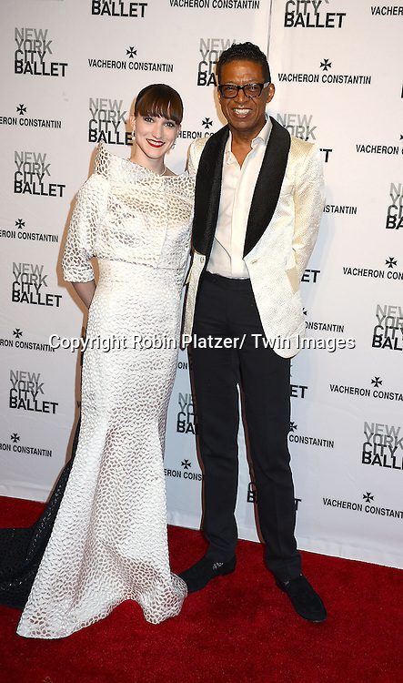 Ashley Bouder and B Michael attends the New York City Ballet Spring 2014 Gala on May 8, 2014 at David Koch Theatre in Lincoln Center in New York City, NY, USA.