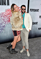 "LOS ANGELES, CA. August 28, 2018: Jason Greene & Jordan Firstman at the world premiere of ""Peppermint"" at the Regal LA Live."