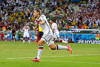 Miroslav Klose of Germany celebrates scoring his goal to make the score 2-2