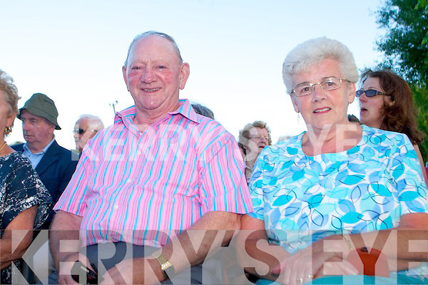 Rath Cemetery annual mass, held on Wednesday, July 10th. Pictured attending the mass, were: Thomas and Gretta Kerins.
