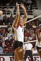 28 October 2005: Bryn Kehoe during Stanford's 3-0 win over Oregon State in Stanford, CA.