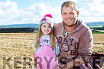 Mark and Cora Corridan (Ballyheigue) at the Abbeydorney Ploughing on Sunday.