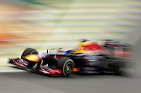 SAO PAULO, SP, 24.11.2013 - F1 GP BRASIL - O piloto alemao Sebastin Vettel durante Grande Prêmio do Brasil de Fórmula 1, no autódromo de Interlagos, zona sul da capital paulista, neste domingo (24). (Foto: Pixathlon / Brazil Photo Press).
