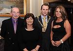 Liam and Helen O'Brien, Killarney,   Jason Clifford, Kerry Skal President, and Jacqui Clifford  at the Skål International Kerry Ball in The Malton Hotel, Killarney on Saturday night. Picture: Eamonn Keogh (MacMonagle, Killarney)
