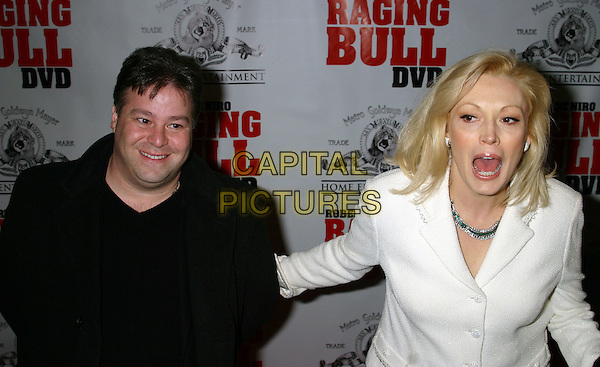 CATHY MORIARTY.25th Anniversary of Raging Bull and Collector's Edition DVD Debut..Ziegfield theatre in New York City..January 27th, 2005 .half length, screaming, mouth open, funny.www.cpaitalpictures.com.sales@capitalpictures.com.© Capital Pictures