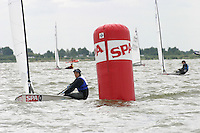 20th SPA Regatta - Medemblik.26-30 May 2004..Copyright free image for editorial use. Please credit Peter Bentley..Sarah Macky - NZL