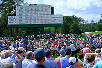 Phil Mickelson (USA) on the 8th tee during the 1st round at the The Masters , Augusta National, Augusta, Georgia, USA. 11/04/2019.<br /> Picture Fran Caffrey / Golffile.ie<br /> <br /> All photo usage must carry mandatory copyright credit (&copy; Golffile | Fran Caffrey)
