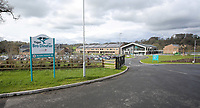 Pictured: The Ysgol Bro Dinefwr school in Llandeilo, Wales, UK.<br /> Re: A &ldquo;creepy&quot; science teacher is facing being struck off after telling a girl pupil he wanted to have sex with her against a wall.<br /> Christopher Clarke, 29, sent a private message via Facebook to the shocked 16-year-old girl who was in his chemistry class at Ysgol Bro Dinefwr in Llandeilo, Carmarthenshire, Wales, UK.