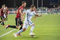San Jose, CA - Monday January 04, 2016: Vako during a Major League Soccer (MLS) match between the San Jose Earthquakes and Atlanta United FC at Avaya Stadium.