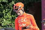 CCC-Liv at sign on before the Strade Bianche Women Elite 2019 running 133km from Siena to Siena, held over the white gravel roads of Tuscany, Italy. 9th March 2019.<br /> Picture: Eoin Clarke | Cyclefile<br /> <br /> <br /> All photos usage must carry mandatory copyright credit (© Cyclefile | Eoin Clarke)