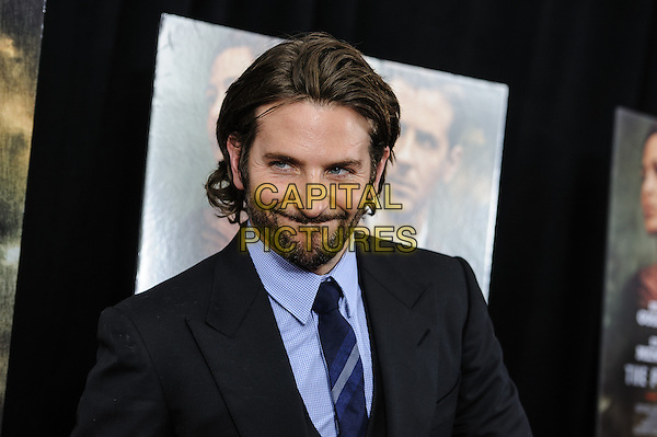 Bradley Cooper.'The Place Beyond The Pines' New York Premiere, New York, New York, USA..March 28th, 2013.headshot portrait blue shirt tie suit beard facial hair black.CAP/ADM/MSA.©Mario Santoro/AdMedia/Capital Pictures.