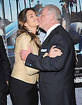 Cindy Crawford and Jerry Weintraub attends The HBO Premiere of HIS WAY Documentary held at Paramount Theater in Los Angeles, California on March 22,2011                                                                               © 2010 DVS / Hollywood Press Agency