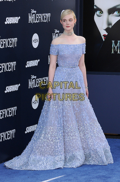 28 May 2014 - Hollywood, California - Elle Fanning. &quot;Maleficent&quot; Los Angeles Premiere held at The El Capitan Theatre. <br /> CAP/ADM/BP<br /> &copy;Byron Purvis/AdMedia/Capital Pictures