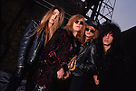 Various portraits & live photographs of the rock band, Enuff Z' Nuff