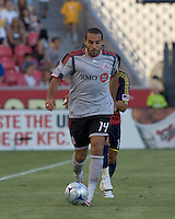 Toronto FC midfielder Dwayne De Rosario (14) moves down the wing. Salt Lake Real defeated Toronto FC, 3-0, at Rio Tinto Stadium on June 27, 2009.