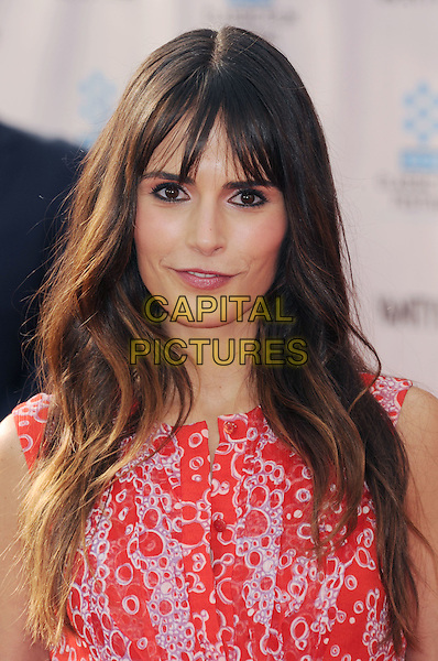 "Jordana Brewster.The World Premiere of the 40th Anniversary Restoration of ""Cabaret"" at Grauman's Chinese Theatre in Hollywood, California, USA..April 12th, 2012.headshot portrait white pink red print  .CAP/ROT/TM.©Tony Michaels/Roth Stock/Capital Pictures"