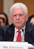 William Emanuel testifies on his nomination as a Member of the National Labor Relations Board before the United States Senate Committee on Health, Education, Labor, and Pensions  on Capitol Hill in Washington, DC on Thursday, July 13, 2007<br /> Credit: Ron Sachs / CNP